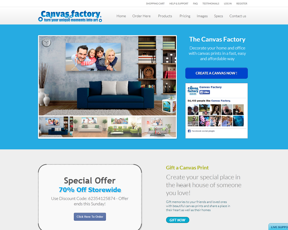 Canvas Factory
