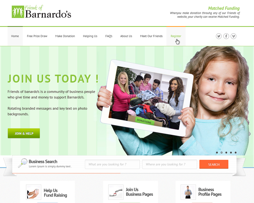 friends of barnardos