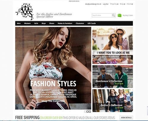 Picture of Fashion 2 Theme